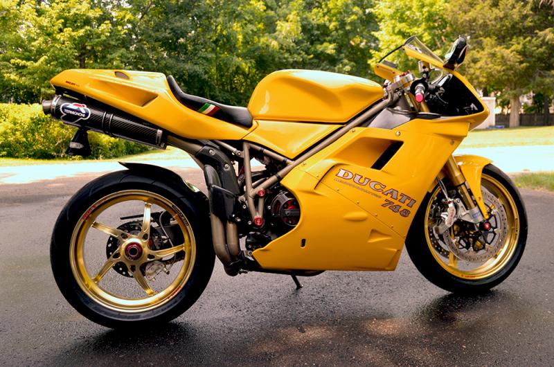 Ducati  Yellow Light