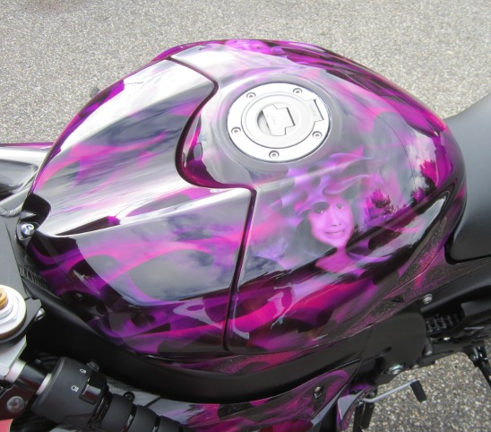 Custom motorcycle paint connecticut cycle refinishing for How much to paint a motorcycle